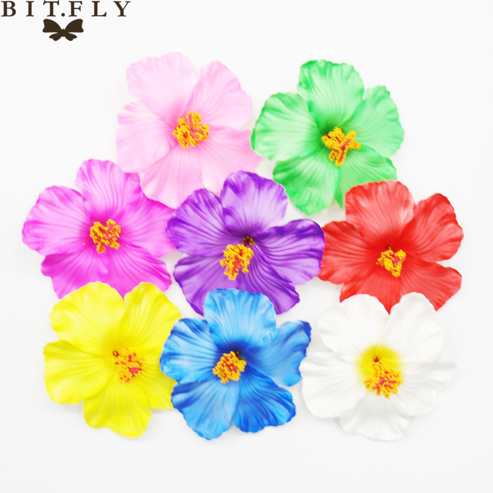 Buy Artificial Hibiscus Flowers And Get Free Shipping On Aliexpress