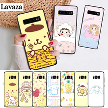 Lavaza Sanrio pom purin lovely Silicone Case for Samsung S6 Edge S7 S8 Plus S9 S10 S10e Note 8 9 10 M10 M20 M30 M40