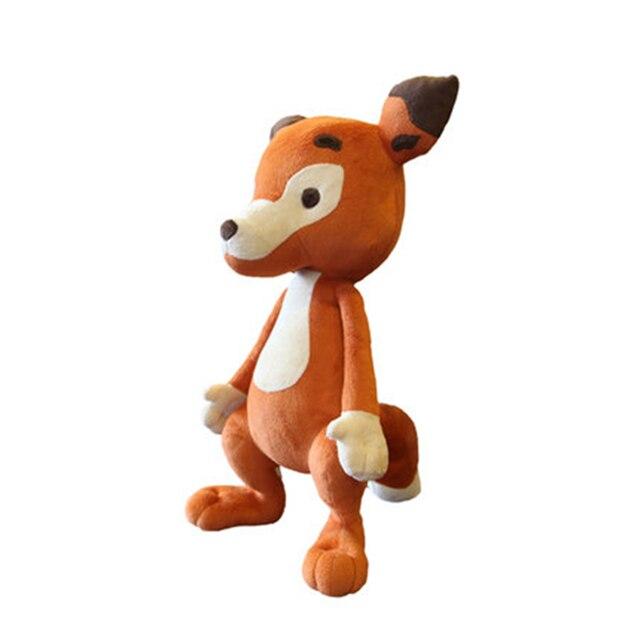 Korean Baby Plush Toys Animal Large Fox Doll Stuffed Animals Soft
