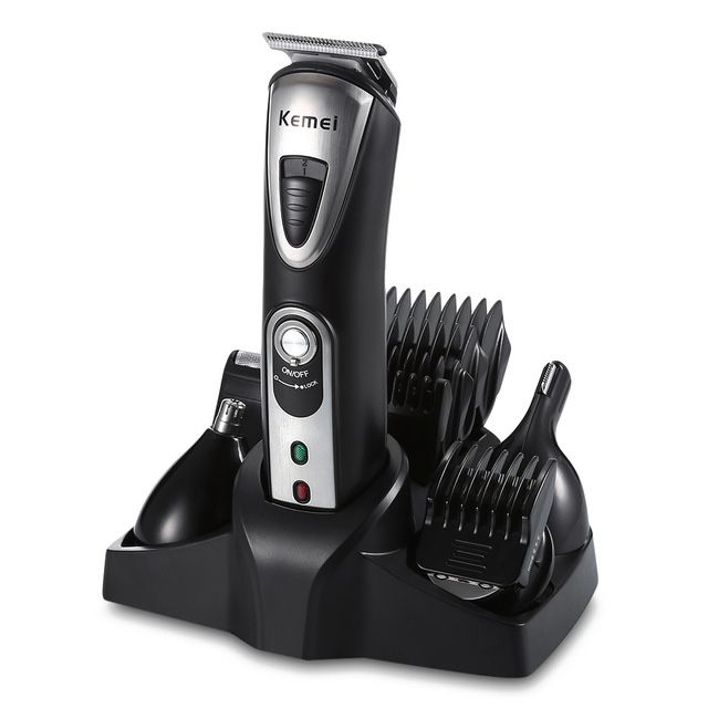 Kemei KM-1617 multifunctional electric Trimmer Cutter Clipper tool for trimming beard whiskers nose eyebrow hair his royal whiskers