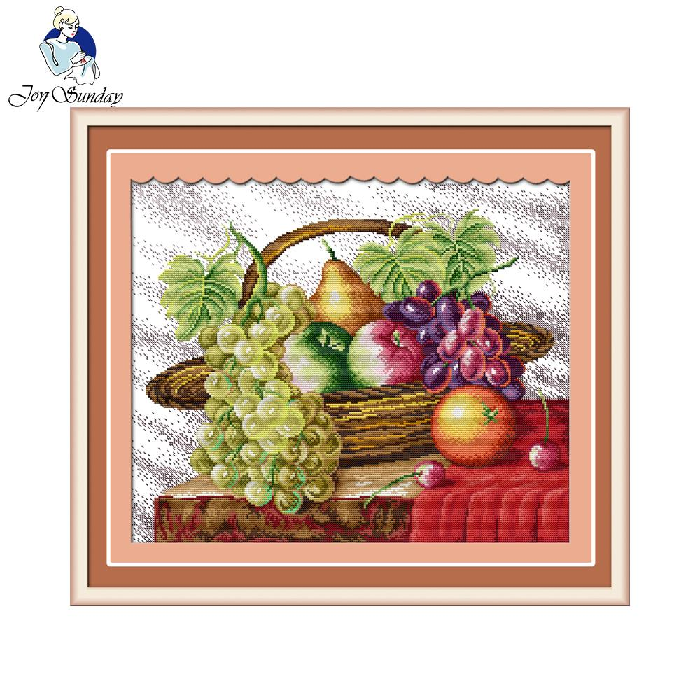 On Line Get Barato Cesta De Frutas Decora Ccedil Atilde O Da  ~ Ponto Cruz Cozinha Moderna