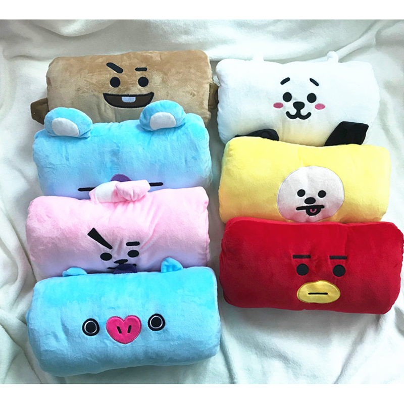 Steady Bt21 Super Kawaii Dolls K Pop Korean Star Bts Bangtan Boys Harajuku Style Fashion Soft Plush Mini Pillow Cushion Cute Toy Doll Hoodies & Sweatshirts