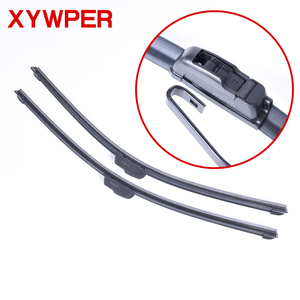 "Car Windshield Wiper blades U-type Universal Soft Rubber Frameless Bracketless car wipers 14"" 16"" 17"" 18"" 19"" 20"" 21"" 22"" 24""26""(China)"