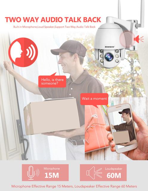Wireless Mini Dome Camera
