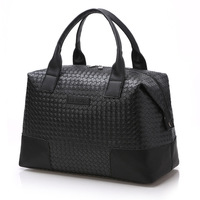 DAYGOS Women Hand Luggage PU Leather Travel Bag Large Capacity Packing Cubes Travelling Bags And Luggage