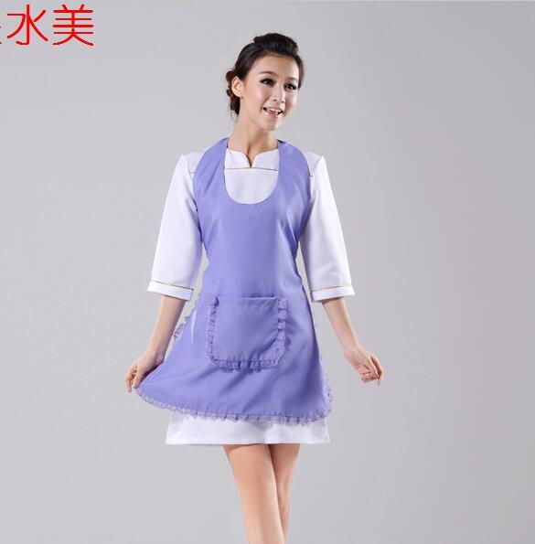 Aprons Spa Beauty Salon Uniforms Aprons