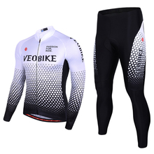 VEOBIKE New Men Cycling Jersey Set Pro Team 2019 Summer Long Sleeve Racing Mtb Bike Sets Clothing Riding Suit Bicycle Clothes cycling clothing limited men sleeve bicicletas riding suit long 2017 new summer sleeved male bicycle for jersey