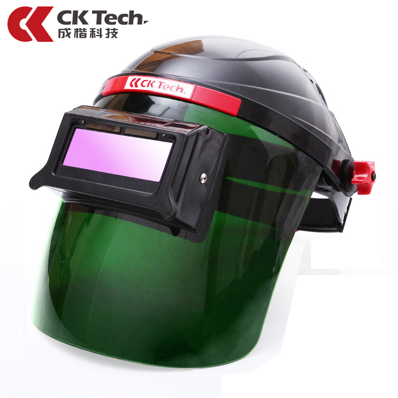 цены CK Tech Auto Darkening Welding Helmets Electric Welding Hood Mask Tig,Mig ,Arc Welding Face Shields Optical Filter 3116