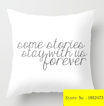 Cool Some Stories Stay With Us Forever(two sides) Pillow ...