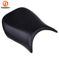POSSBAY Black Motorcycle Seat Cover Pillion Scooter Driver Seat Cover Pad Fit For Kawasaki Ninja ZX6R