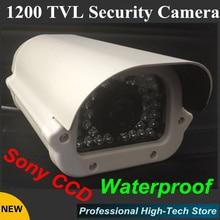 Бесплатная доставка Sony CCD 1200TVL Cctv Камеры открытый 1/3 «36 массива СВЕТОДИОДОВ Видеонаблюдения Системы ВИДЕОНАБЛЮДЕНИЯ