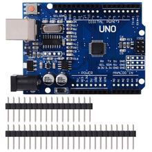 UNO R3 rozwój pokładzie ATmega328P CH340 CH340G dla Arduino UNO R3 z prosty Pin nagłówek tanie tanio ROBOTLINKING Nowy Regulator napięcia UNO REV3 Other 0℃-35℃ 7-12 V ATmega328P CH340G 5 1 x 3 1 x 2 inches 1 12 ounces