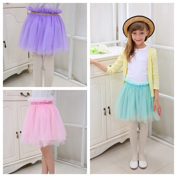 8 color choose pink purple green mint girls skirt new style kids skirts girl tutu skirts kids ...