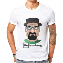 Hot Sale Men Tshirt Breaking Bad Printed Cotton Short-Sleeved  Funny Man T Shirt Short Sleeve Character Cartoon Mens T-Shirt