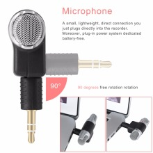 Portable Mini Stereo Recording Microphone Mic With 3.5mm Mini Jack