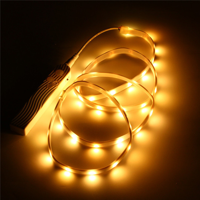 50100150cm 153045 led strip light pir motion sensor battery 50100150cm 153045 led strip light pir motion sensor aloadofball Choice Image
