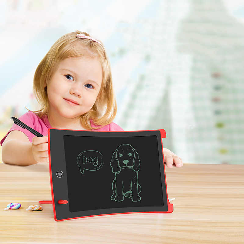 Juguetes de dibujo tableta de escritura LCD tableta de dibujo borrable tableta electrónica sin papel LCD escritura a mano Pad niños pizarra niños regalos