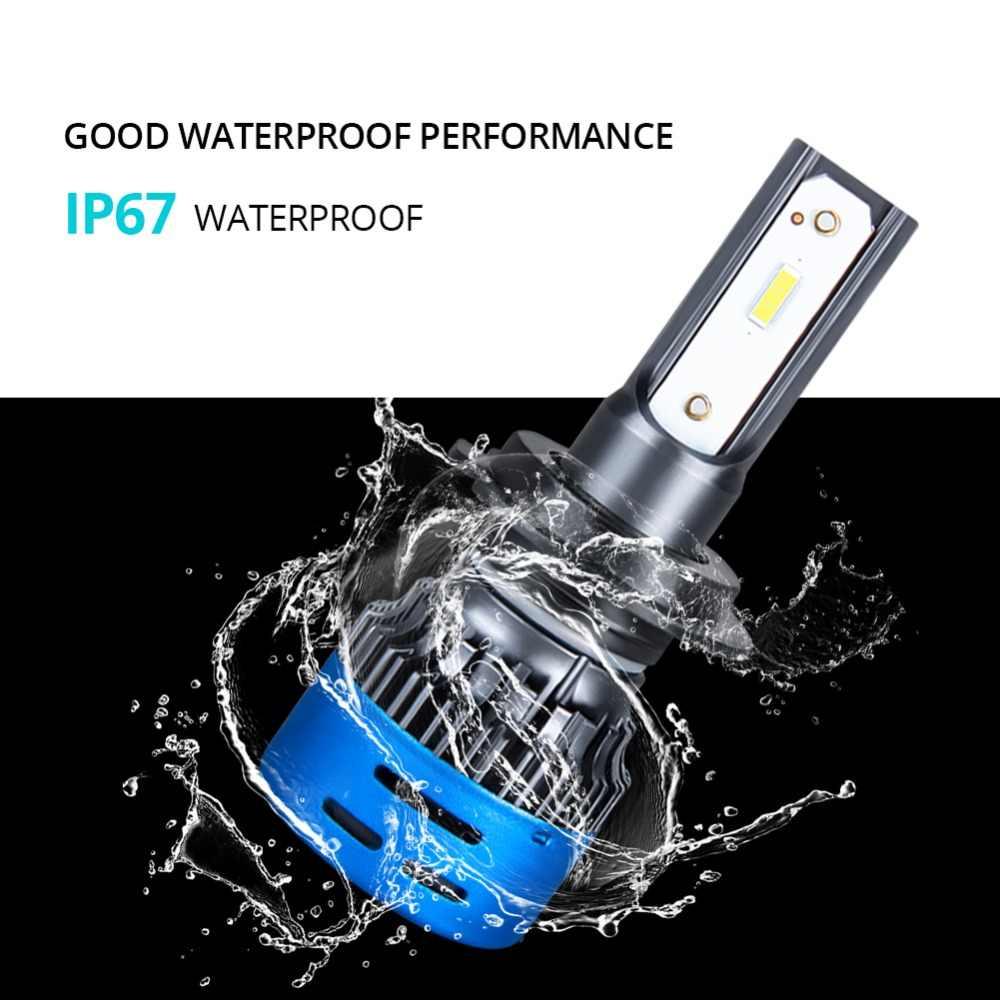 VooVoo H7 LED Car Headlight H4 LED Bulb H1 H9 H11 9005 9006 HB3 HB4 9600LM 24V Auto Headlamp 3000K 4300K 6500K 12000K Fog Light