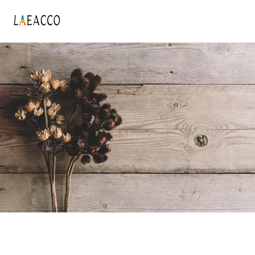 Laeacco Wooden Board Pine Nuts Food Cake Pet Portrait Photography Backgrounds Customized Photographic Backdrops for Photo Studio in Background from Consumer Electronics