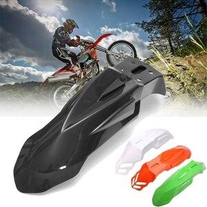 Image 1 - Libero di Plastica di trasporto Universale Supermoto Evo Nero Parafanghi Anteriori Per Honda Yamaha Suzuki KTM DRZ KX YZ KTM WR XR