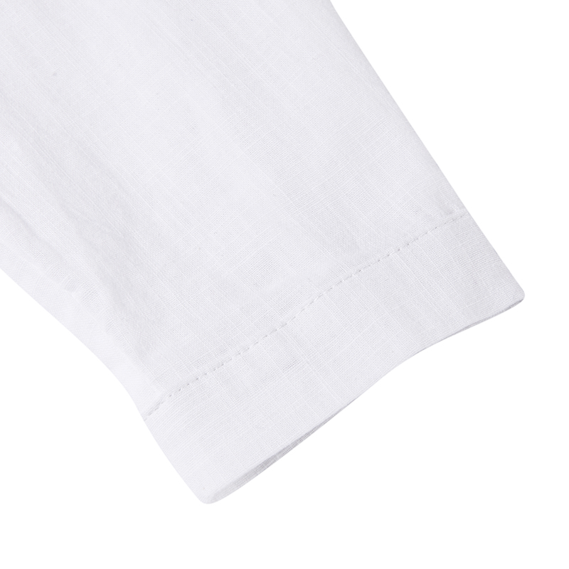 VONDA New Women Blouses 19 Summer Office Lady White Shirts Lantern Sleeve Buttons Deep V Neck White Blouse Sexy Plus Size Tops 25