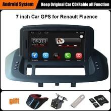 Actualizado Original Juego Reproductor multimedia Del Coche de Navegación GPS Del Coche para Renault Fluence Ayuda WiFi Smartphone Espejo-link Bluetooth