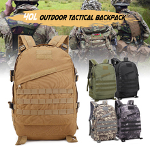 600D Oxford 40L Tactical Backpack Military Waterproof Army Rucksack Outdoor Sports Camping Hiking Fishing Hunting Bag