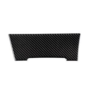 Image 2 - עבור פולקסווגן גולף 7 MK7 VII 2013 2014 2015 2016 2017 סיבי פחמן רכב מרכז קונסולת מצית לוח כיסוי