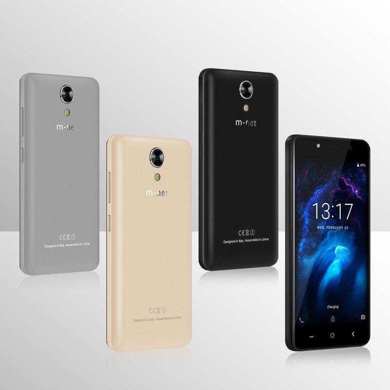 M-HORSE Power 1 Mobile Phone 5.0 Inch 5050mAh Android 7.0 1GB RAM 8GB ROM MTK6580 Quad Core Dual 5MP Camera 3G Sim Smartphone
