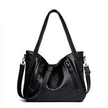 2018 Leather Handbag Women Shoulder Bag Ladies Luxury brand Handbags Large Casual Shoulder Messenger Bag Mummy Bags Sac Tote