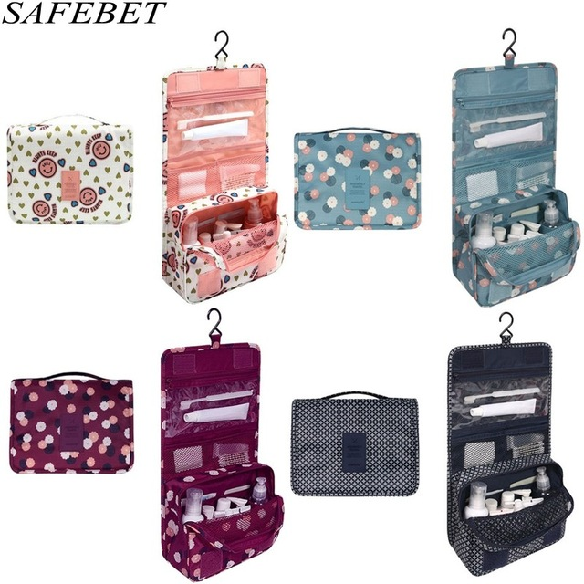 2018 Ms Cosmetic bag Portable Travel Waterproof Oxford clothDailynecessities bathroom ha ...