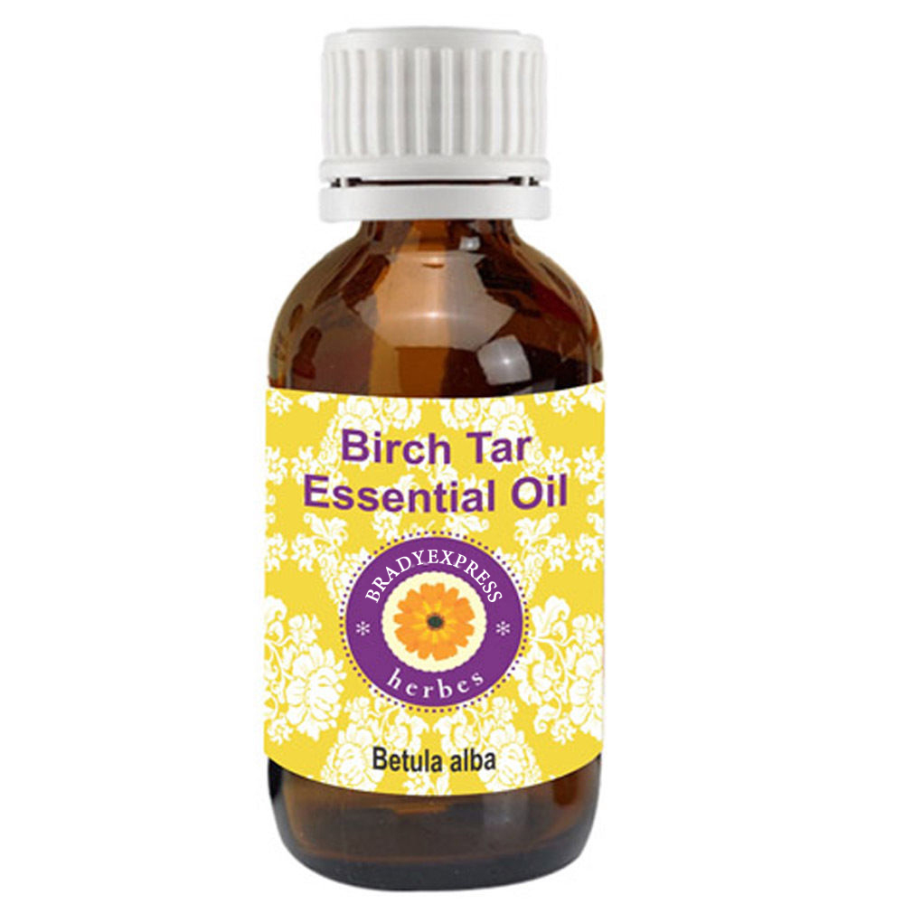 FRee Shipping Pure Birch Tar Oil Betula Alba 100% Natural Cold Pressed Undiluted Therapeutic G  5ML