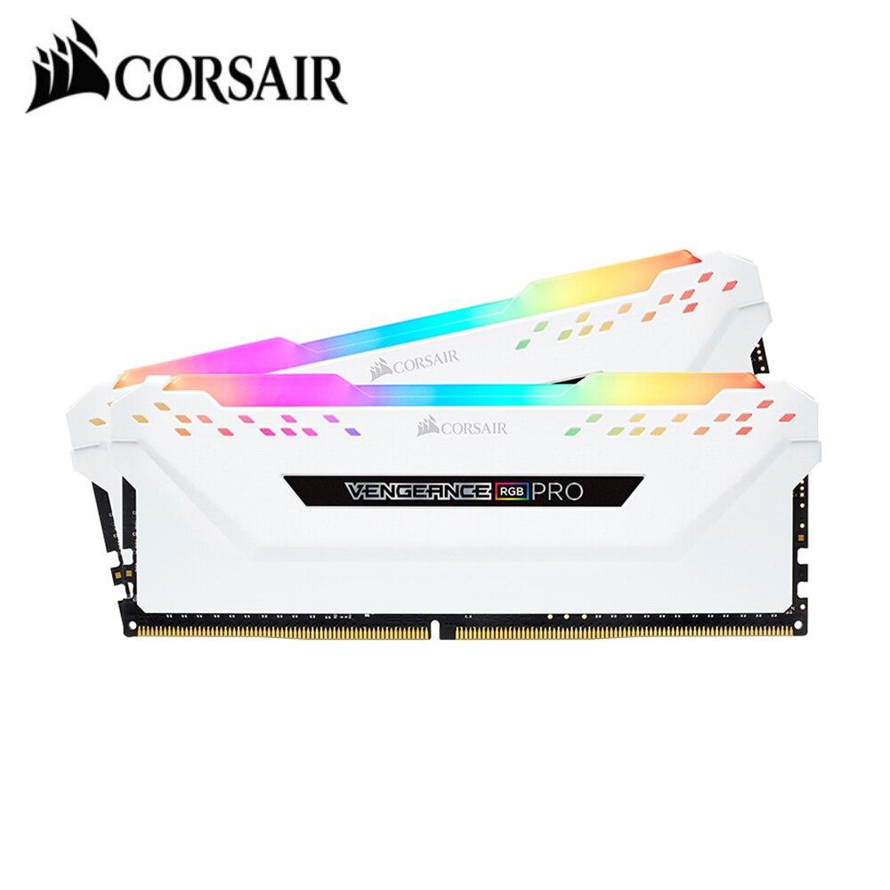 Модуль памяти CORSAIR Vengeance RGB PRO, ОЗУ 8 ГБ, память 16 ГБ, 2x8 ГБ, двухканальный DDR4, 16 ГБ, 32 ГБ, память PC4 3000 МГц, 3200 МГц, Mzh DIMM|Оперативная память|   | АлиЭкспресс