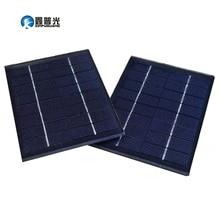 Xinpuguang 2 Вт 8 в солнечная панель Стекло DIY Мини сотовый модуль для 18650 батареи игрушечный светильник светодиодный светильник Открытый DIY комплект зарядное устройство