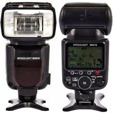 Meike – Flash pour appareil photo MK910 1/8000s, Flash Speedlite pour Nikon D7100 D7000 D5300 D5100 D5000 D5200 D90 D70 + cadeau gratuit