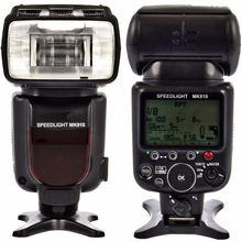 Вспысветильник для камеры meike mk910 1/8000s sync ttl speedlite