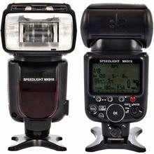 Meike MK910 1/8000s sync TTL kamera flaşı işığı Speedlite Nikon D7100 D7000 D5300 D5100 D5000 D5200 D90 d70 + Ücretsiz HEDIYE