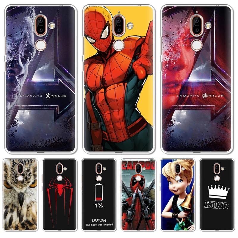 Spiderman Avengers Deadpool 4 Owl For Nokia 1 3 5 8 6 2 7