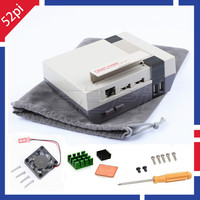 52Pi In Stock Mini NES NESPI CASE Retroflag Nespi Case Designed For Raspberry Pi 3 2