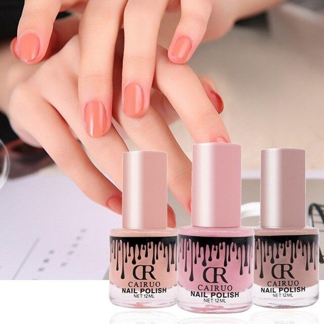 CR 36 colores 12 ml peel off Esmaltes de uñas efecto espejo Esmaltes ...