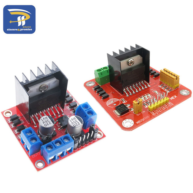 L298n Module Dual H Bridge Stepper Motor Driver Board Modules L298