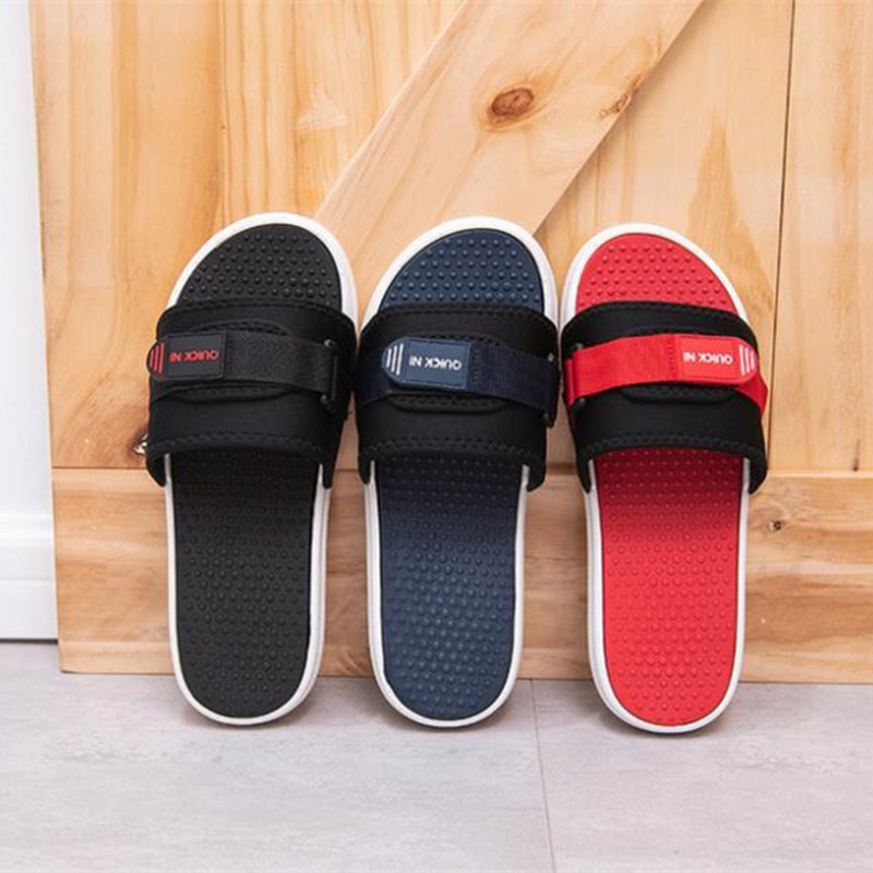 Home Slipper Man  Summer Indoor Home Bath Anti-skid Household Thick Bottom Outdoor Men's Sandals