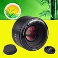 Для Nikon d7100 d3100 d5300 d7000 d90 d5200 Камеры YONGNUO YN50mm f1.8 Ю. Н. EF 50 мм f/1.8 AF Объектив YN50 Большой Апертурой Авто фокус