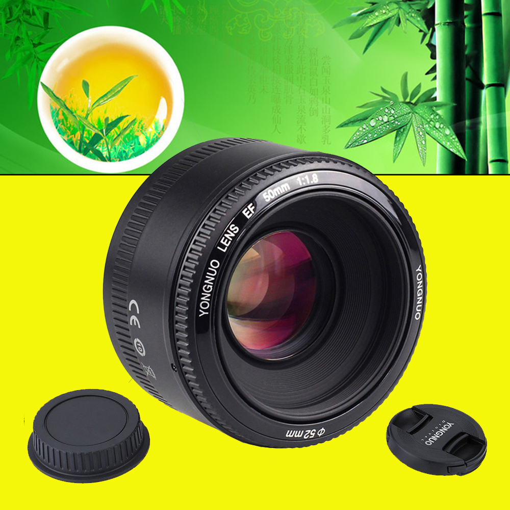 For Nikon d7100 d3100 d5300 d7000 d90 d5200 Camera YONGNUO YN50mm f1.8 YN EF 50mm f/1.8 AF Lens YN50 Large Aperture Auto Focus nikon lens 50 1 8 d nikkor af 50mm f 1 8d lenses for nikon d90 d7100 d7200 d610 d700 d810 d5 digital camera professional
