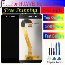 For Huawei Nova 2 Touch Screen Digitizer Assembly PIC-AL00 PIC-L09 PIC-L29 PIC-TL00 PIC-LX9 LCD Display