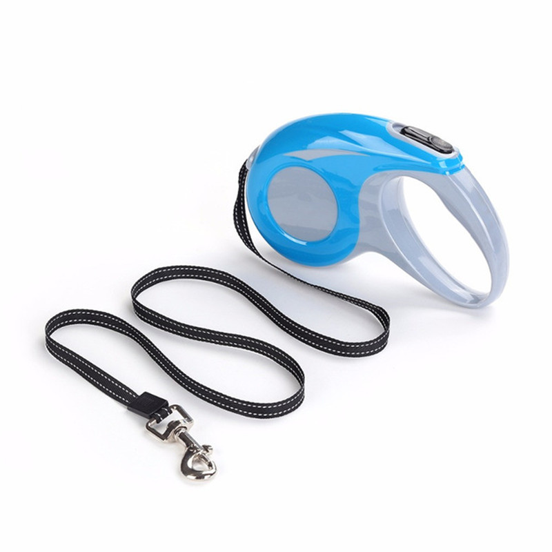 Hot 2018 Dog Retractable Leashes Stor Størrelse 5M Til Hund Walking - Pet produkter - Foto 2