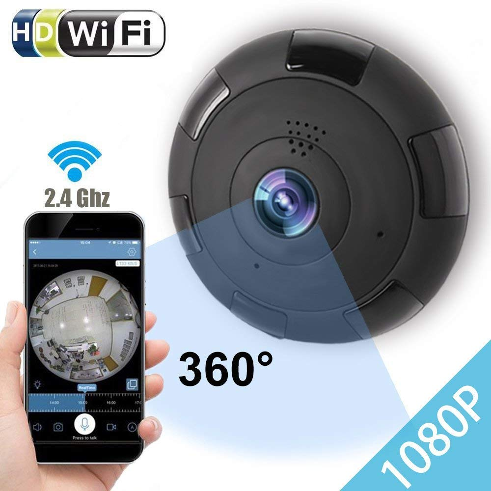 Uvusee CCTV 1080P IP Camera, Panoramic 360 Degree Indoor Wireless WiFi Security Network IP Camera SurveillanceUvusee CCTV 1080P IP Camera, Panoramic 360 Degree Indoor Wireless WiFi Security Network IP Camera Surveillance
