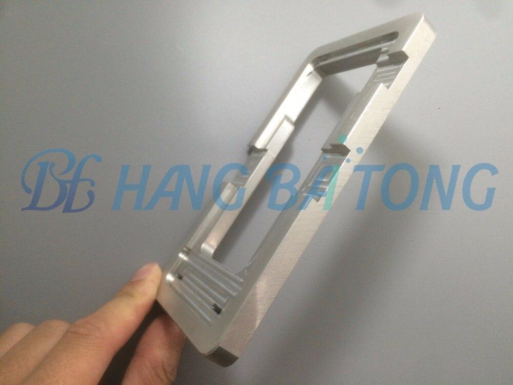 imágenes para Aleación de aluminio de alta precisión molde localizar fixture abrazaderas lcd molde para samsung J1 J2 J3 J5 J7 2015 J120 J320 J510 2016 LCD Molde