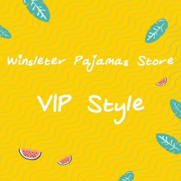 VIP Style Pajama Sets Cotton Spandex Print Top + Shorts 2 Pieces Set S7N201 Y C