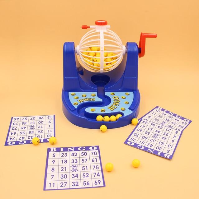 Ninos Juguete Educativo Mini Bingos Juego Ernie Maquina De Loteria